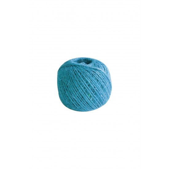 Natürel Jüt ip mavi 100gr