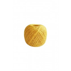 Natürel Jüt ip Sarı 100 gr