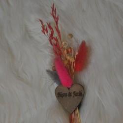 Kürü Çiçek Hediyelik pembe