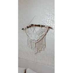 Makrome duvar süsü,dekoratif