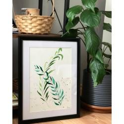 Yeşil Yaprak Tablo