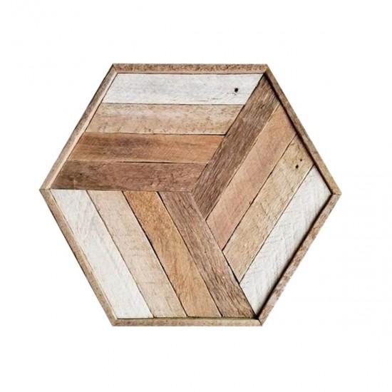 Geometrik Ahşap Kaplama