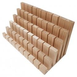 Ahşap Tuğla Bloklar