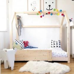 Montessori Ahşap Yatak